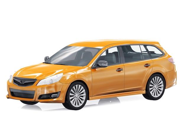 Wagon combi auto 2010 mockup