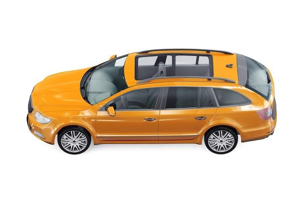 Wagon combi auto 2011 mockup
