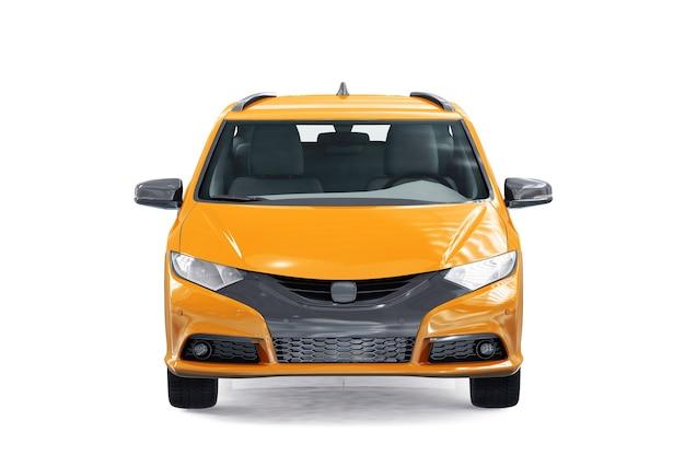 Wagon combi auto 2014 mockup