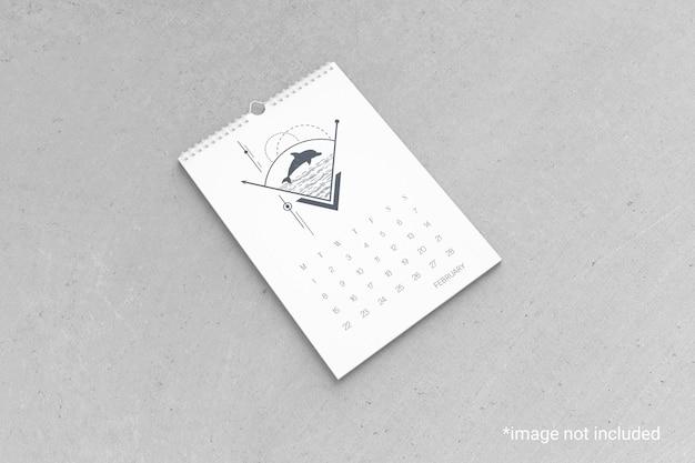 Wandkalender mockup