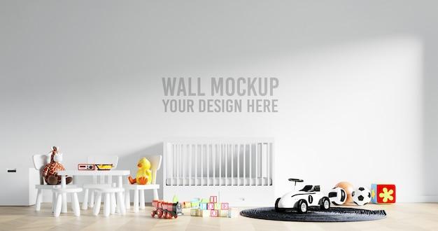 Wandmodel kinderkamer speelkamer met decoraties
