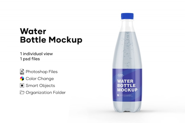 Waterfles mockup