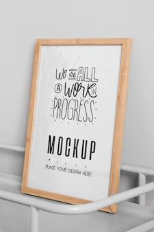 We zijn een mock-up voor de voortgang van het werk