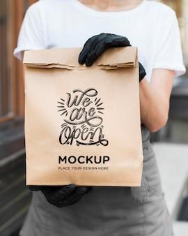 We zijn een open concept mock-up