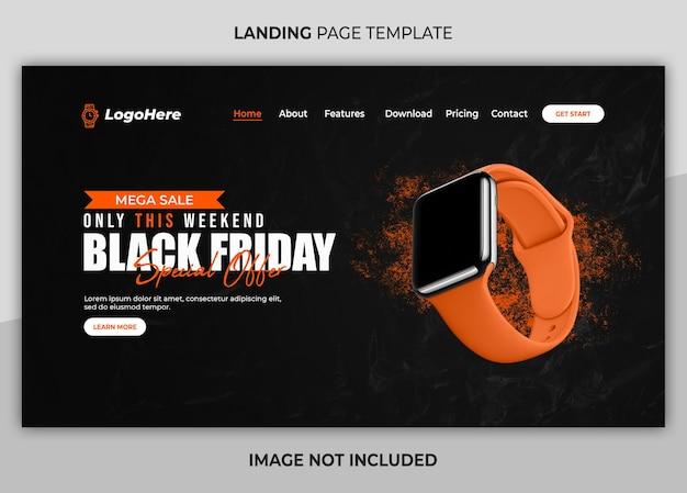 Webbestemmingspagina te koop black friday
