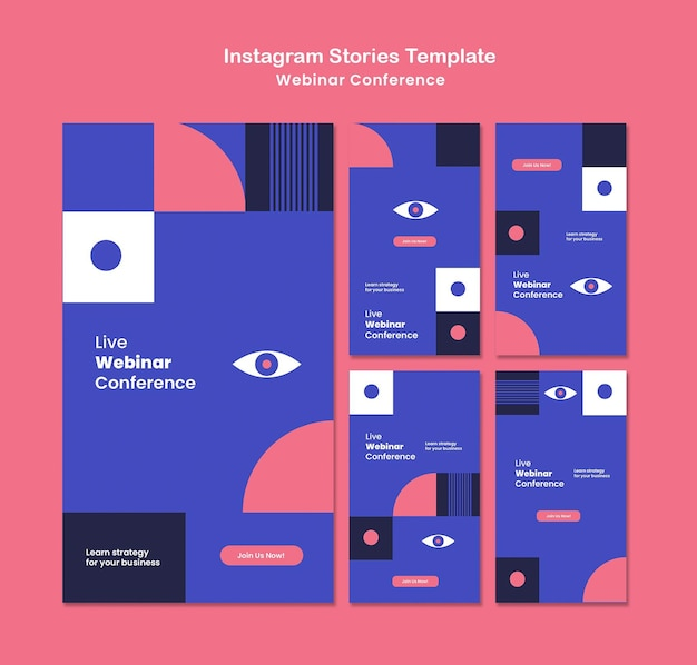 Webinarconferentie sociale media-verhalen