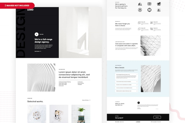 Website van design agency