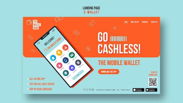 Websjabloon zonder contant geld