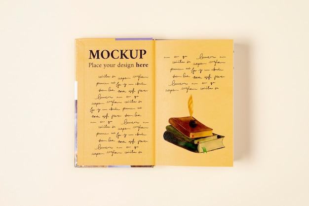 Wereldboekdag concept mock-up