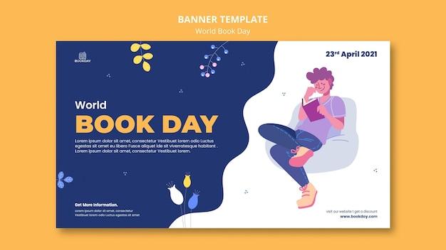 Wereldboekdag evenement banner
