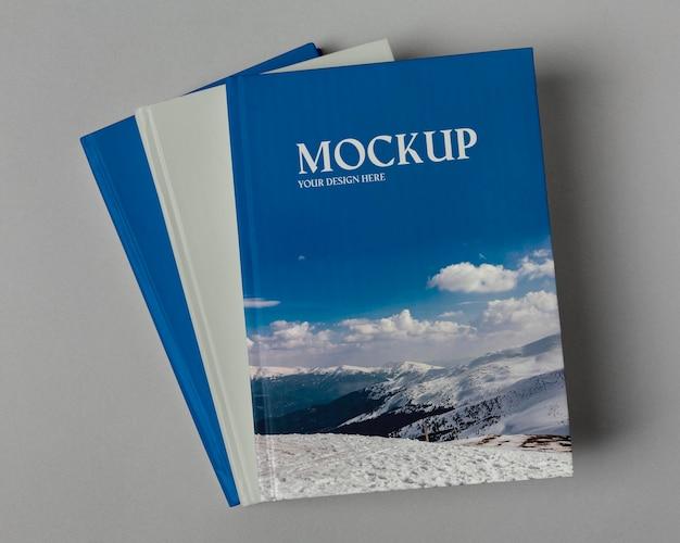 Wereldboekendag mock-up arrangement