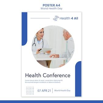 Wereldgezondheidsdag poster