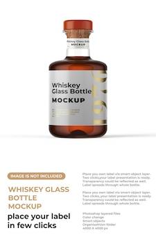 Whiskyfles mockup