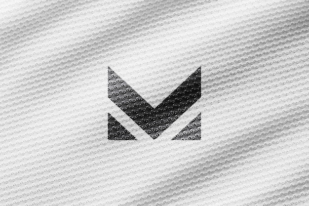 Whit shirt close-up mockup realistisch