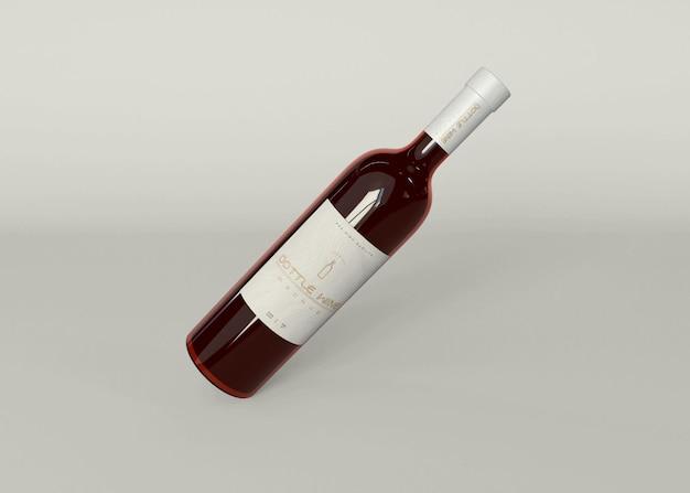 Wijnfles mockup