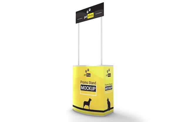 Winkel promo stand mockup