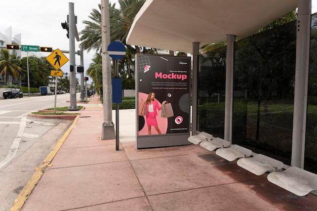 Winkelen reclame buiten display