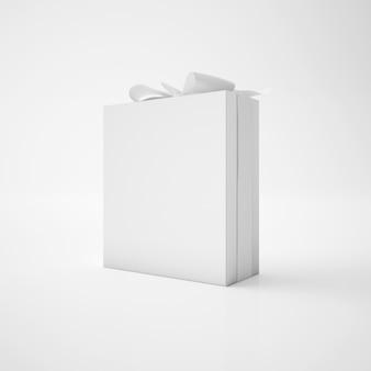 Witte doos met lint