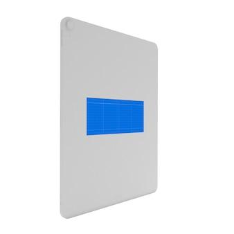 Witte tablet mockup
