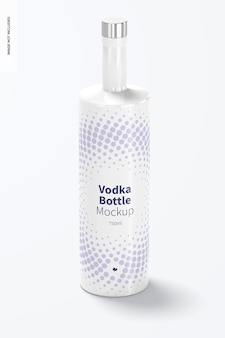 Wodka fles mockup
