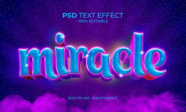 Wonder tekst effect