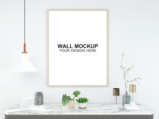 Woonkamer interieur huis mockup vloer meubilair achtergrond, minimalistisch ontwerp kopie ruimte sjabloon psd