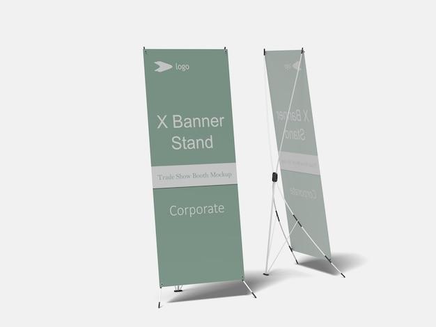 X-banner mockup Premium Psd