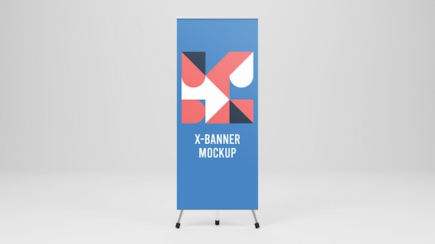 X-banner mockup