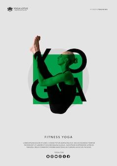 Yogameditatie stelt met vrouwen