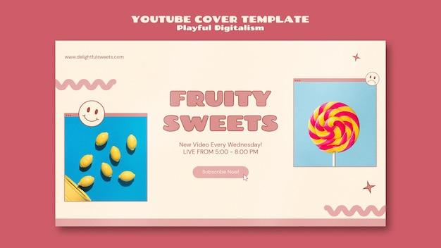 Youtube-cover van snoepwinkel