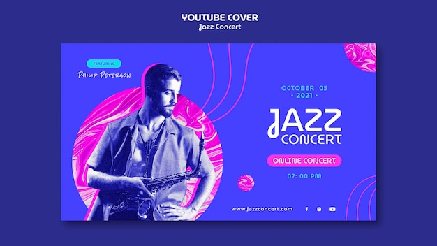 Youtube-cover voor jazzconcert