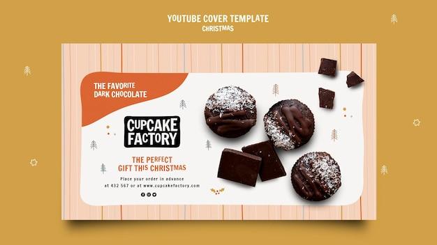 Youtube-cover voor kerstcupcakes