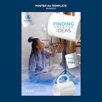 Zakelijk sjabloonontwerp voor posters