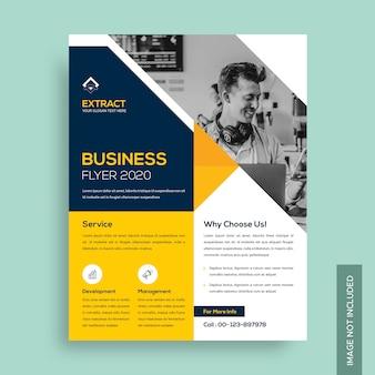 Zakelijke corporate flyer