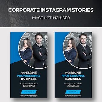 Zakelijke instagram-verhalen