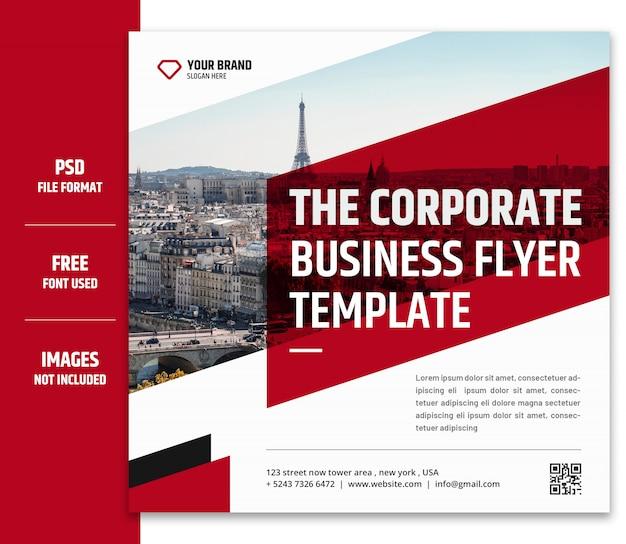 Zakelijke marketing sociale media-banner of vierkante flyer-sjabloon premium psd - 5