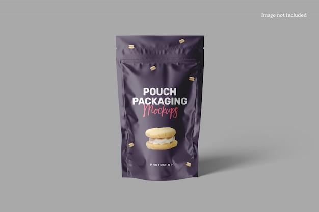 Zakje verpakking mockup
