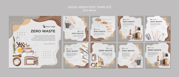 Zero waste social media post