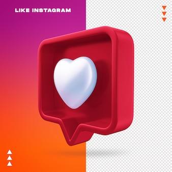 Zoals instagram geïsoleerd