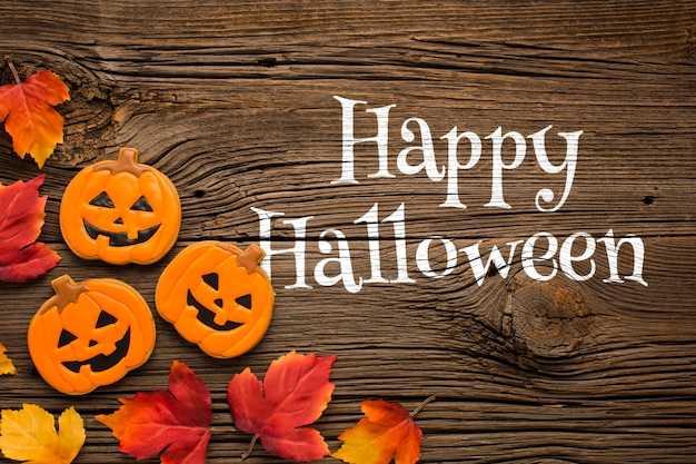 Zoete zoete traktaties van halloween