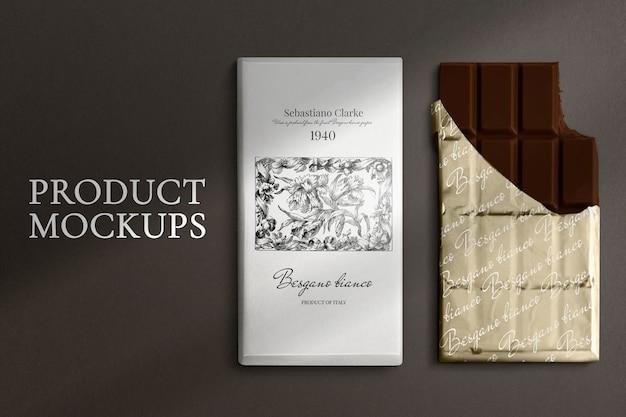 Zwart-wit patroon notebook mockups Gratis Psd