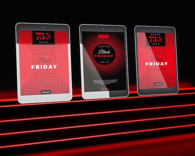 Zwarte vrijdag met speciale prijs voor apparaten