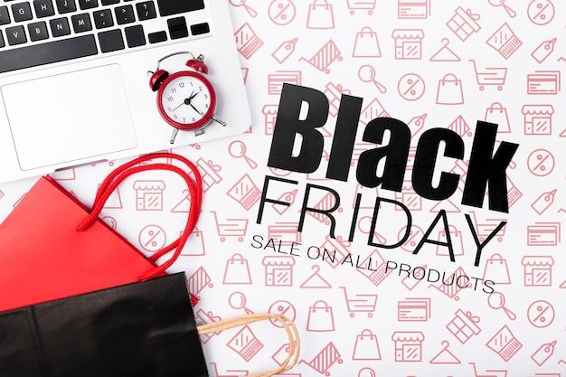 Zwarte vrijdag online campagne