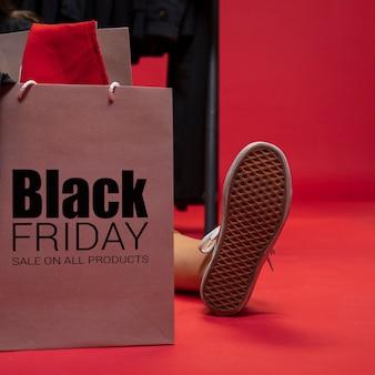 Zwarte vrijdag uitverkoop promoties beschikbaar