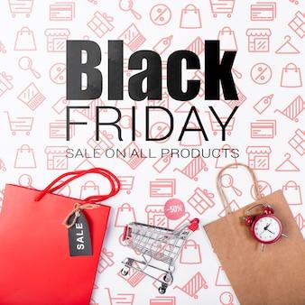 Zwarte vrijdag verkoop campagneperiode