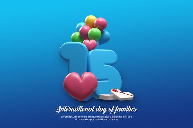 15 mai journée internationale des familles
