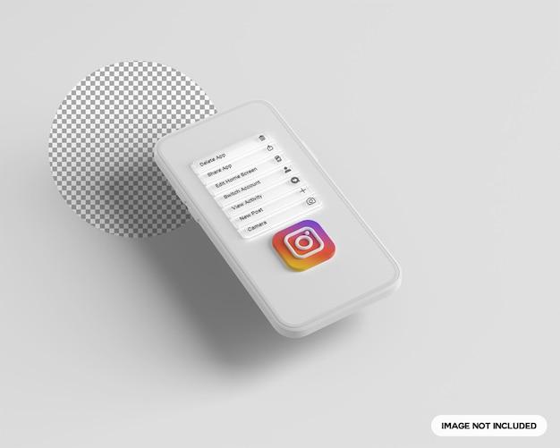 3 paramètres instagram apparaissent sur le téléphone