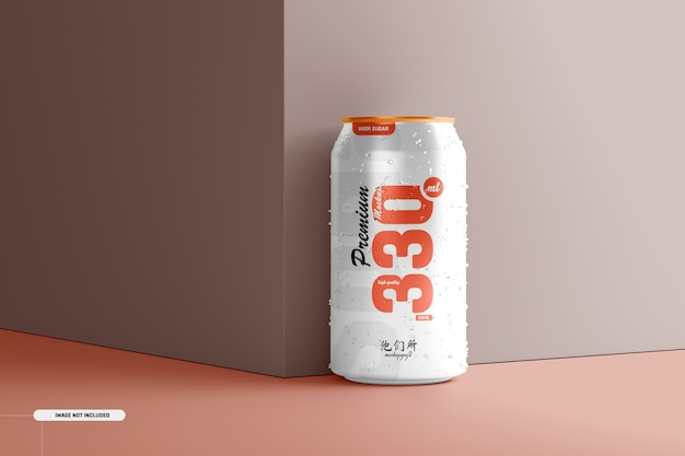 330 ml de canette de soda