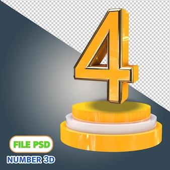 3d numéro 4