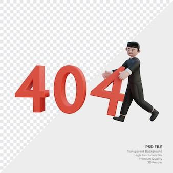404 maintenance du système avec des personnes